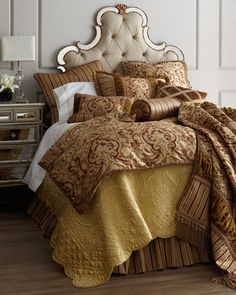 """Botticelli"" Bed Linens - Horchow"