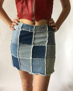 #ootd #fashion #style #vintage #90sfashion #fashioninsta #instastyle #shopoholics #styleinspo #fashion #trend #designer #outfit… Cool Outfits, Casual Outfits, Denim Art, Denim Ideas, Patched Jeans, Ootd Fashion, Diy Clothes, Designer, Trends