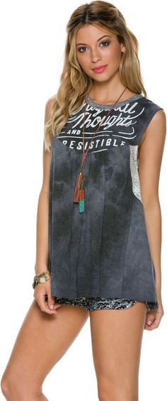 SCRAPBOOK THE LAURA women fashion outfit clothing style apparel @roressclothes closet ideas  TEE