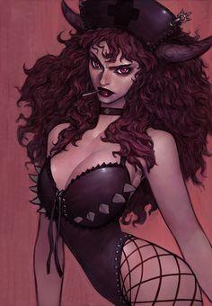Evil Nurse. by ~gongsang81 on deviantART via PinCG.com