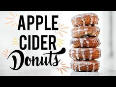 APPLE CIDER DONUTS – Meghan Rienks