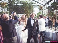 """All the Photos You Want to See from Ice Dancer Charlie White's Wedding 