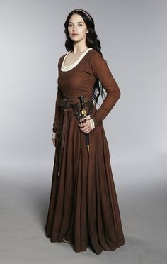 Medieval/fantasy gown. Jessica Brown-Findley in Labyrinth (2012)