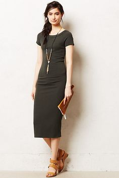Midi Pencil Dress - anthropologie.com