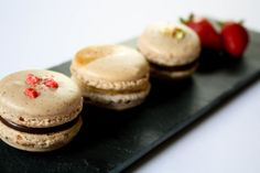 Macarons - edible polka dots