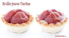 Brillo para Tartas. Cobertura de gelatina para cubrir tartas de Javi recetas