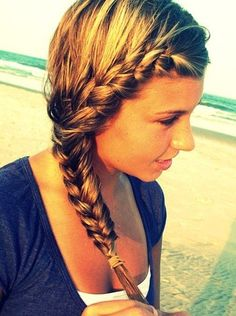 casual braid