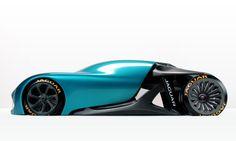 Jaguar Naked Concept - 1/4 Model on Behance