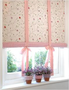 8 Auspicious Hacks: Blinds And Curtains Hardware small bedroom blinds.Bedroom Blinds Wooden roll up blinds doors. Kitchen Blinds With Valance, How To Make Curtains, Shabby Chic Interiors, Shabby Chic Kitchen Curtains, Curtains, Diy Curtains, Roll Up Curtains, House Blinds, Soft Furnishings