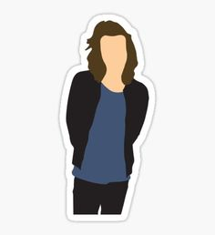 One Direction Drawings, One Direction Art, Tumblr Stickers, Cool Stickers, Desenho Harry Styles, Harry Styles Drawing, Aesthetic Stickers, Harry Styles Wallpaper, Larry Stylinson
