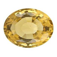8.01 ct Oval Citrine Golden Yellow -Gold Crane & Co.