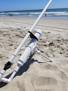 We made two beach trips to test the air cannon. The tests resulted in a few minor tweaks and the bait launcher is now. Diy Fishing Bait, Kayak Fishing Gear, Kayak Fishing Accessories, Crappie Fishing Tips, Fishing Equipment, Saltwater Fishing, Kayak Outriggers, Air Cannon, Bait Caster