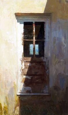 """Roberts Door. 32"""" x 54"""", Oil on Canvas. Scott Conary"""