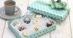 Decorative Boxes, Sweets, Candy, Cooking, Handmade, Trufle, Food, Home Decor, Alice