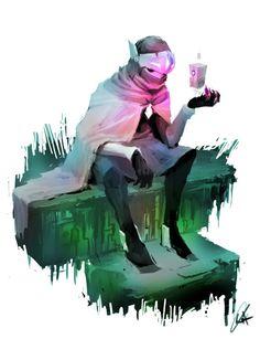 Created for the badass Polygon.com story here:http://www.polygon.com/a/creativity-cover