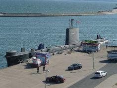 HMS OTUS im Sassnitzer Stadthafen