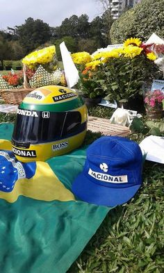 Ayrton Senna. I've been there personally on a business trip to Brasil.