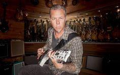 METALLICA, James Hetfield testimonial per uno spot per Guitar Center #metallica #jameshetfield