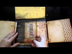7 Gypsies  Tim Holtz Portfolio Mini Album