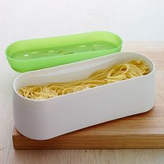 Microwave Pasta cooker sold by Williams-Sonoma. IF WS sells this, it must be legit.