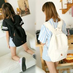 HOT SALE Women Lace Cute Backpack Bag Schoolbag Tote Handbag Campus Bookbag