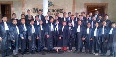 Sidang Terbuka Pelantikan dan Penyumpahan Advokat Indonesia PERADIN di Hotel Grand Pasundan Bandung 8 April 2013.