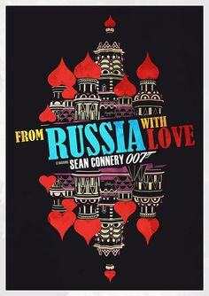 James Bond poster From Russia With Love