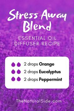to Essential Oils? Searching for Simple Essential Oil Combinations for Diffuser? Check out these 21 Easy Essential Oil Blends and Essential Oil Recipes Perfect for Beginners. Stress Away Blend 2 drops Orange + 2 drops Eucalyptus + 2 drops peppermint Essential Oils For Headaches, Essential Oil Diffuser Blends, Doterra Essential Oils, Mixing Essential Oils, Essential Oils Anxiety, Orange Essential Oil, Essential Oil Stress Away, Oils For Diffuser, Peppermint Essential Oils