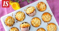 Näissä muffinseissa hurmaa murukerros.