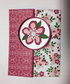 1 post published by Denise Hoepfner during March 2016 Flip Cards, Fancy Fold Cards, Folded Cards, Scrapbooking, Scrapbook Cards, Swing Card, Cardmaking And Papercraft, Flower Stamp, Stamping Up Cards