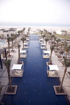 Take a dive into the beautiful pool  right next to the ocean at the Park Hyatt Abu Dhabi Hotel and Villas.
