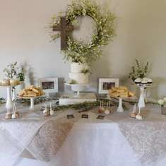 Garden Baptism Party Ideas. First Communion PartyFirst Communion DecorationsBaptism ... & Rustic First Communion Party Ideas | Pinterest | Communion ...