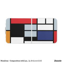 Mondrian - Composition with Large Red Plane