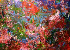 """Saatchi Art Artist Igor Eugen Prokop; Painting, """"CORAL COLONISATION"""" #art"""