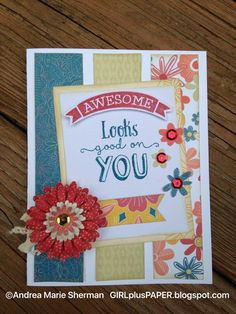 GIRLplusPAPER: CTMH Flower Market and Florence Card for Mojo Monday 459 Challenge