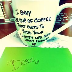 Missing him cup