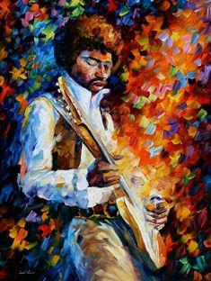 Leonid Afremov  1955 yılında Vitebsk şehrinde doğdu.    Leonid, Marc Chagall ayrıca Maleviç ve Kandinsky ile birlikte Vitebsk Sanat Okul...
