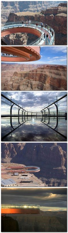 Grand Canyon Skywalk - i still can't believe I did this! I was scared to death…