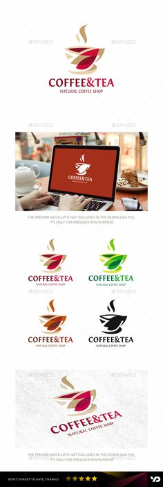 Coffee: Food Logo Design Template by Food Logo Design, Logo Food, Logo Design Template, Logo Templates, Resturant Logo, Logo Restaurant, Coffee Logo, Coffee Branding, Cappuccino Coffee