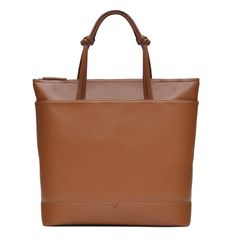 Check out the The Zipper Tote in Technik-Leather in Caramel from von Holzhausen