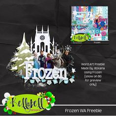 Scraps&more: Frozen by Kellybell Designs