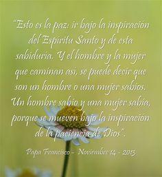 ¿Sigues las inspiraciones del Espíritu Santo ? Lee más en: www.aica.org/9422-francisco-no-busquen-cosas-raras-con-curiosidad-mundana-vivan-en.html