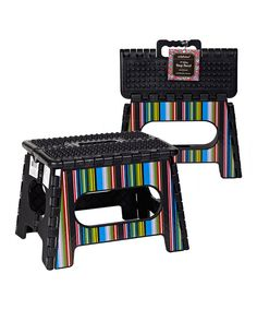 Seda France Rouge Parlor Folding Step Stool - Set Of Two