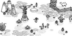 "Hidden Folks (iOS) • ⭐️⭐️⭐️⭐️⭐️ • really fun ""Where's Waldo"" style hidden object game. What makes this game truly unique and fun is the interactive worlds — you may find yourself checking behind doors or even inside of plants for objects — as well as the clever hints, that gives you clues about where to look."