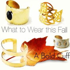 Which is your favorite? #cuff #jewelry #sarablaine #fall2013 http://karenallison.jewelry.willowhouse.com
