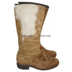 Deer Fur Winter Handmade Women Boots