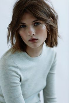 some day i shall need to cut my hair.... and she/and this cut is adorable