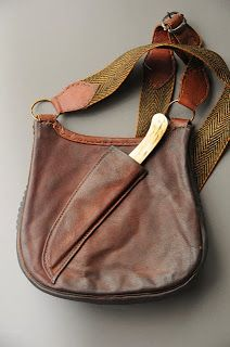 Contemporary Makers: Hunting Pouch by Ron Scott