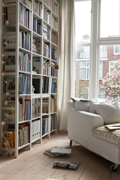 Books to the ceiling, books to the floor, all there is to say about books is more, more, more!