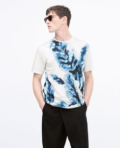 Image 2 of SHORT SLEEVE T-SHIRT from Zara